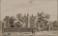 t Huis Ypestein, bij Heiloo 1737