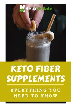 We look at why you might need a fiber supplement, how it helps you when on a keto diet, what to look for in a good fiber supplement, and tell you the best fiber supplement for keto. Fiber Rich Foods, High Fiber Foods, Best Fiber Supplement, Fiber Supplements, For Your Health, Keto Recipes, Diet, News, Check
