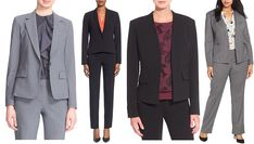 How to dress for an interview, including helpful visuals and advice for accessorization!s
