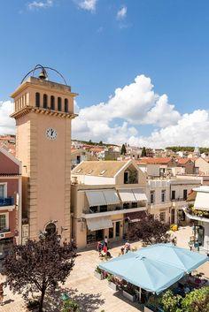 A Town in Kefalonia Greece