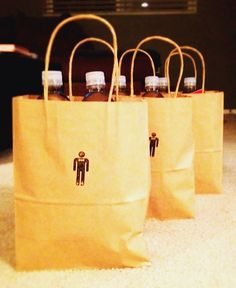 Bachelor Party Favors  #bachelor #party #favors @WedFunApps ❤'s  bachelor party survival packs