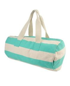 Striped Duffle Bag | FOREVER21 - 1011408985