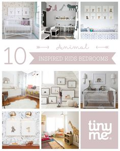 10 Animal Inspired Kids Bedrooms ~ Tinyme