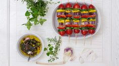 I miei spiedini di verdure grigliati per www.ifood.it