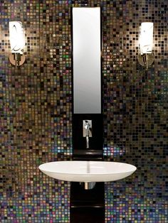 Bring On the Bling - Bathroom Tiles for Every Budget and Design Style on HGTV