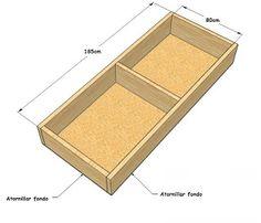 Vctry 39 s blog como hacer un sillon o sofa cama con baul - Como tapizar un sillon ...