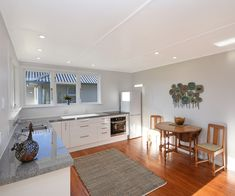 This comfortable Mosgiel property promises to be your forever home Open Plan Kitchen, New Kitchen, Kitchen Dining, Day Room, Painted Walls, Wood Burner, New Carpet, Exterior Paint, Living Area