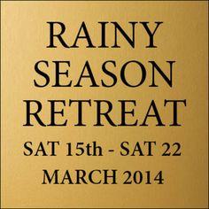 A playlist of audio tracks of talks and meditations given at Brighton Buddhist Centre's 2014 Rainy Season Retreat.