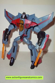 transformers STARSCREAM animated complete 2008 voyager