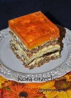 Przepisy Magdy: Kora orzechowa Polish Recipes, Polish Food, Something Sweet, Tiramisu, Ale, Sweets, Food And Drink, My Favorite Things, Baking