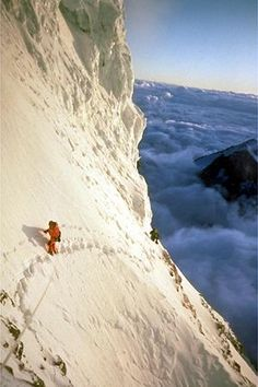 Summit of K2, the 2nd highest mountain in the world.
