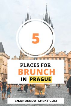 Looking for a plce to have breakfast in Prague? In this post, I share top 5 places to have breakfast in Prague city center! They are all recommended by the locals! Be sure to read this post or you will regret it! #Prague #breakfast #food #brunch #Czech #foodguide #praguetravel Prague Travel Guide, Travel Tips For Europe, Cities In Europe, Top Place, The Good Place, Prague City, Cool Places To Visit, The Locals, Brunch