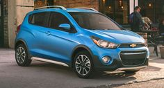 Chevy Launches New 2017 Spark ACTIV Priced From $16945