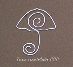Signet de parapluie par TuranianWalk sur Etsy