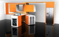 Picture an ultra modern kitchen that is space saving and can be shifted from one room to another. Award winning movable kitchen concept by Marcello Zuffo has made it possible.   What's Different?  Marcello Zuffo has designed an innovative...