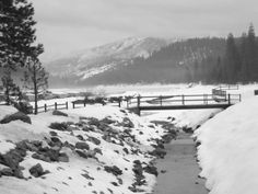 Hume Lake Christian Camps, Sequoia National Forest, California.  BEST place to be in the winter!