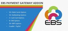 EBS offers the widest range of payment options currently available in India