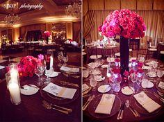 Four Season Boston Ballroom, draped in red and pink