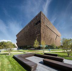 Washington DC Smithsonian National Museum of African American History and Culture / Adjaye…