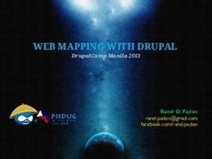 #Drupal : Web Mapping with Drupal