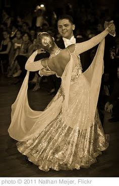 Lessons I learned from taking ballroom dancing lessons with my hubby--and why he eventually loved the lessons, though he so didn't want to go at the beginning!