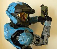 Halo: Reach's Kat Spartan Armor Made By Fan