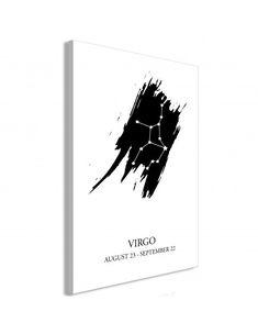 Obraz - Znaki zodiaku: Panna (1-częściowy) pionowy Zodiac Signs Virgo, Panna, Superhero, Posters, Fictional Characters, Products, Dekoration, Poster, Fantasy Characters