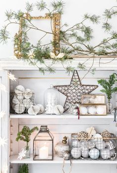 Embracing the concept of hygge, the Hideaway interior trend focuses on creating your own wintry retreat this festive season… Hygge Christmas, Scandi Christmas, Woodland Christmas, Christmas Love, Christmas And New Year, Beautiful Christmas, Winter Christmas, Christmas Wreaths, Christmas Ideas