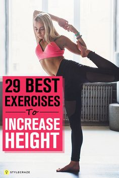 Body height growth tips can we increase height,diet for height growth after 18 how to get taller fast,how to increase our height very fast how to use yoko height increaser. How To Get Tall, How To Grow Taller, Yoga Fitness, Fitness Tips, Health Fitness, Women's Health, Best Fitness, Mans Health, Fitness Planner