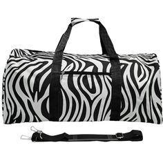 World Traveler Zebra Lightweight Duffle Bag - Red Rolling Duffel NEW Black And White Bags, Lightweight Luggage, Kids Dance Wear, Go Bags, Backpack Purse, World Traveler, Duffel Bag, Diaper Bag, Ebay
