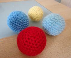 Dinki Dots Craft: Crochet Baby Balls