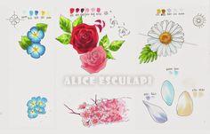 tutorial flowers with copics copic italia blog