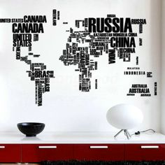 Super awesome by anderson tomazi typography graphic design diy large world map wall decal english alphabet removable wall stickers decal gumiabroncs Images