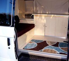 Astro van to camper conversion