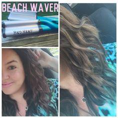 Beach waves tutorial with tigi by bedhead beach waver, philip b maui wowie, wen haircare, gloss moderne, alterna - Summer Haircare Essentials | caitlincooks