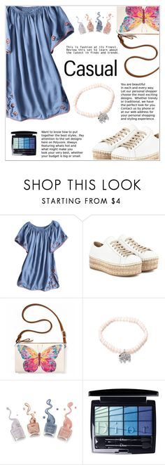 """""""Casual - OOTD"""" by shambala-379 ❤ liked on Polyvore featuring Prada, Brighton and Christian Dior"""