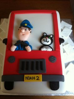 postman pat cake - Inspiration for cake for my friend's two year old