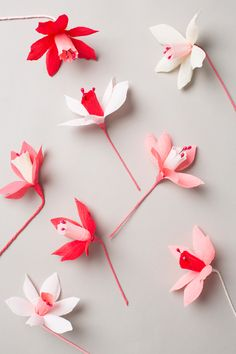 DIY Valentine's Day paper wreath (via The House that Lars Built).