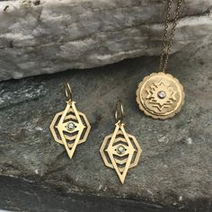 Zoe and Morgan Kailash Necklace Arrow Necklace, Gold Necklace, Pendant Necklace, Statement Earrings, Studs, Plate, Necklaces, Jewels, Sterling Silver