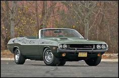1970 Dodge Hemi Challenger Convertible 426/425 HP V-8 , 3-Speed Automatic - 1 of 9 built (5/MT & 4/A)