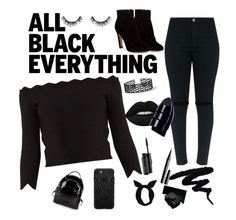 """""""Black Beauty"""" by jannamariahmacaraeg ❤ liked on Polyvore featuring beauty, Alexander McQueen, Gianvito Rossi, Miss Selfridge, Velour Lashes, Lime Crime, Anastasia Beverly Hills, MAC Cosmetics, Kendall + Kylie and Lulu in the Sky"""