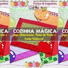 Apostila Digital Cozinha Mágica: Frutas & Legumes