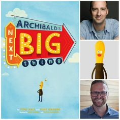 Actor Tony Hale adds new page to his resume with children's book, 'Archibald's Next Big Thing.' http://www.al.com/entertainment/index.ssf/2014/07/tony_hale_actor_veep_arrested.html