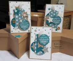 Sweet Cards with Project Life Seasonal Snapshot 2015 Card Collection - Barbara Meyer