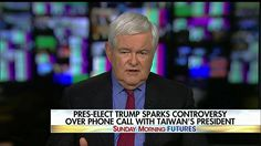 """""""Beijing does not dictate who an American president speaks to.""""  Newt Gingrich argued that """"the Chinese are not our enemies, but they are our natural competitors right now,"""" and """"we need to be calmly and cheerfully firm that the United States, in fact, is not automatically going to do what Beijing wants it to do."""""""