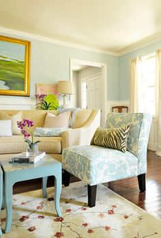 therapist office design   Bandanamom: Happy, Restful, Cheery Homes