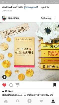 #killallhappiness #happybooks #yellowcover