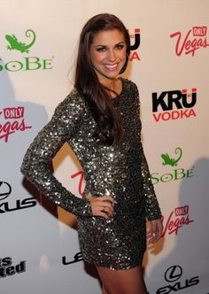 Or a sparkly dress.   25 Reasons Why Alex Morgan Is The Perfect Lady