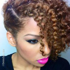 Natural hair.... so cute