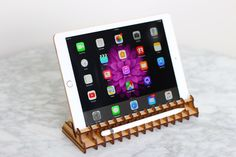Items similar to Ipad Pro stand on Etsy Ipad Pro, Instagram Accounts, Custom Design, My Etsy Shop, Unique Jewelry, Handmade Gifts, Kid Craft Gifts, Craft Gifts, Costume Jewelry